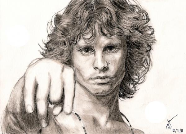 Jim Morrison par PokeyArt